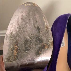 Steve Madden Shoes - Rounded Toe, Purple Hue Heels